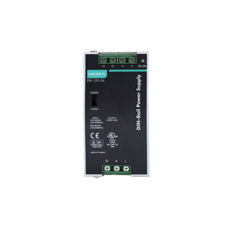 MOXA DR-120-24 DIN-rail Power Supply