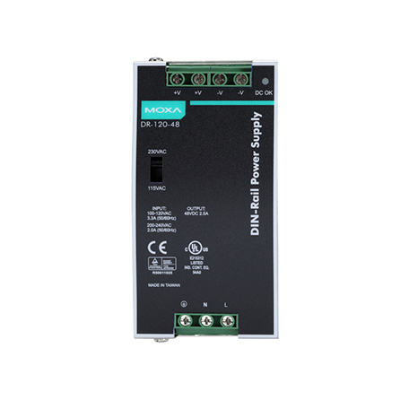 MOXA DR-120-48 DIN-rail Power Supply