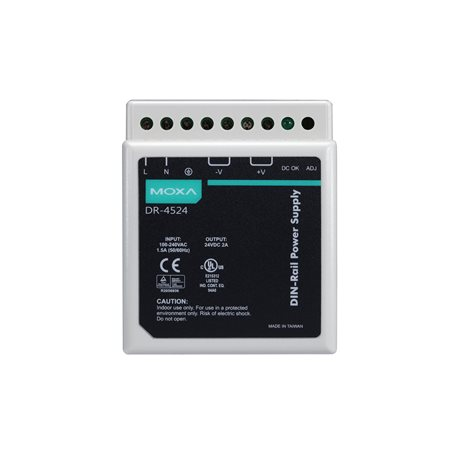 MOXA DR-4524 DIN-Rail Power Supply