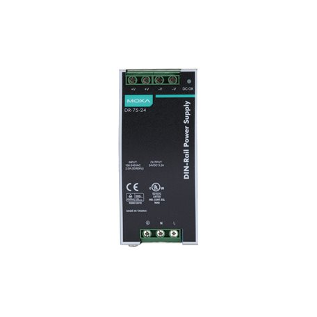 MOXA DR-75-24 DIN-rail Power Supply