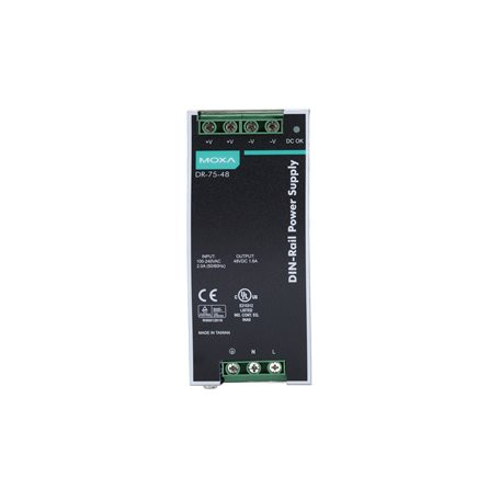 MOXA DR-75-48 DIN-rail Power Supply