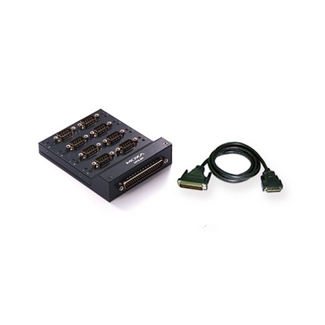 MOXA OPT8-M9+ Serial Board Connection Box
