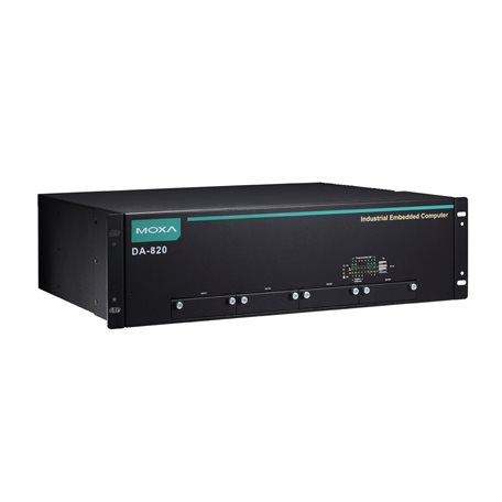 MOXA DA-820-C3-DP-HV-T Industrial Computer