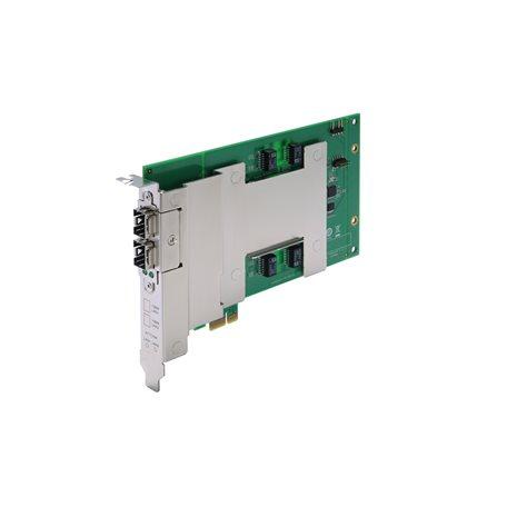 Moxa DE-FX02-SFP-T Fiber Ethernet Expansion Module