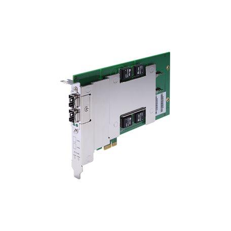 Moxa DE-GX02-SFP-T Fiber Ethernet Expansion Module