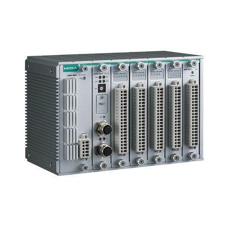 MOXA ioPAC 8600-CPU30-M12-IEC-T Modular Programmable Controller