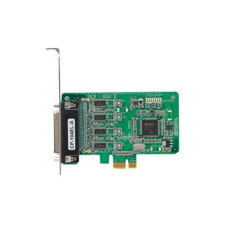 MOXA CP-104EL-A-DB9M PCI Express Serial Board