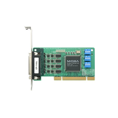 MOXA CP-114UL-I-DB9M UPCI Serial Board