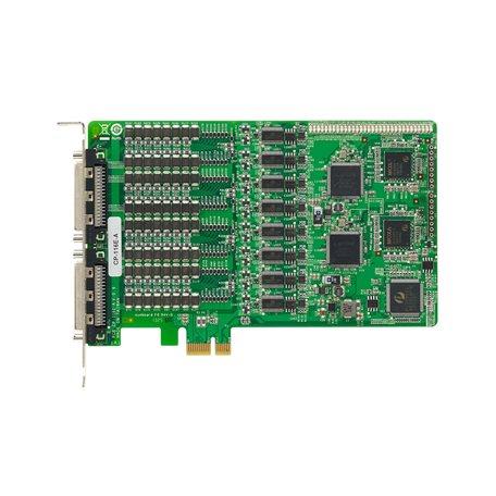 MOXA CP-116E-A w/o Cable PCI Express Serial Board