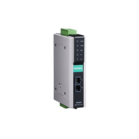 MOXA MGate MB3170I-S-SC-T Industrial Ethernet Gateway