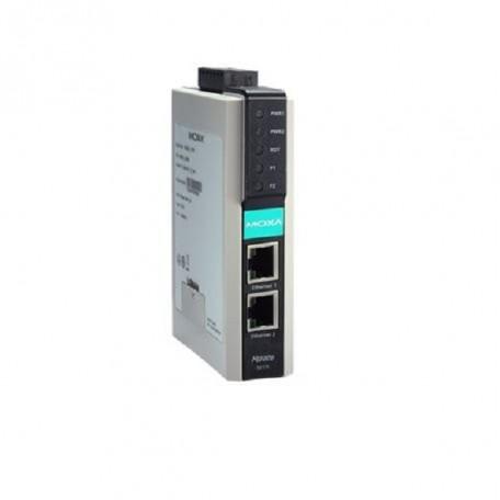 MOXA MGate 5217I-600-T Modbus RTU/ASCII/TCP to BACnet/IP Gateway