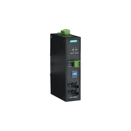 MOXA ICF-1170I-M-ST CANbus to Fiber converter