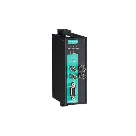 MOXA ICF-1280I-S-ST-T PROFIBUS to Fiber converter