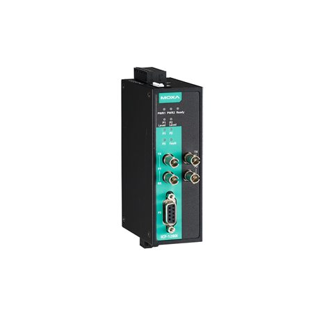 MOXA ICF-1280I-S-ST PROFIBUS to Fiber converter