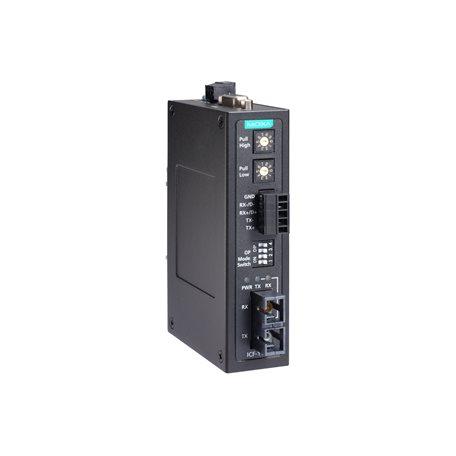 MOXA ICF-1150-S-ST-T Serial to Fiber Converter