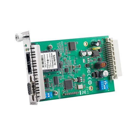 MOXA TCF-142-M-SC-RM Serial to Fiber Slide-in Module