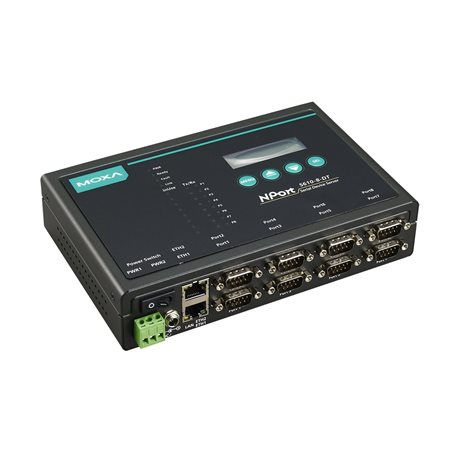 MOXA NPort 5610-8-DT Serial to Ethernet Device Server