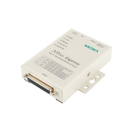 MOXA NPort Express DE-211 Serial to Ethernet Device Server