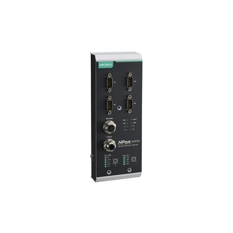MOXA NPort 5450AI-M12-T Serial to Ethernet Device Server