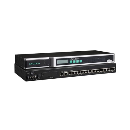 MOXA NPort 6650-16-48V Serial to Ethernet Device Server