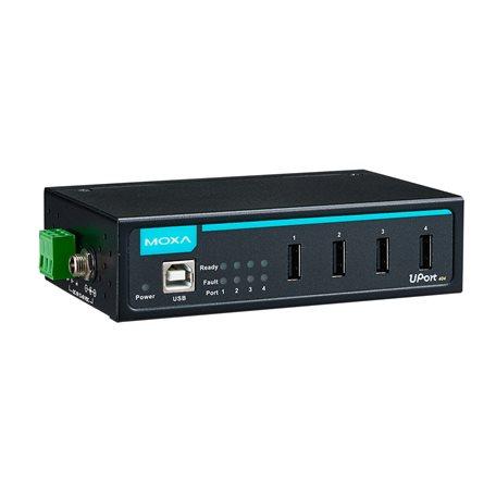 MOXA UPort 404-T 4-Port Industrial USB Hub
