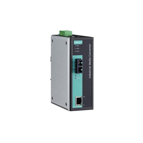 MOXA IMC-101-S-SC-80 Ethernet to Fiber Converter