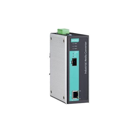 MOXA IMC-101G-T Ethernet to Fiber Converter
