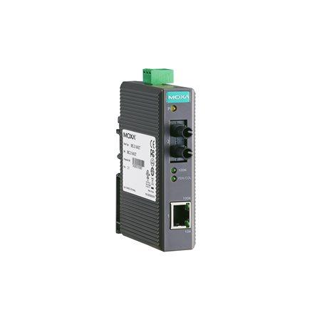 MOXA IMC-21-M-ST Ethernet to Fiber Converter