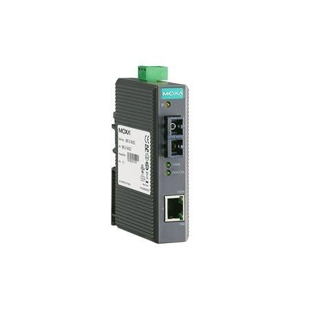MOXA IMC-21-S-SC Ethernet to Fiber Converter