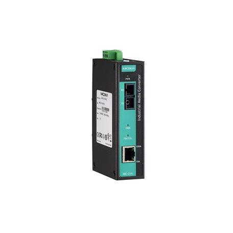 MOXA IMC-21A-M-SC Ethernet to Fiber Converter