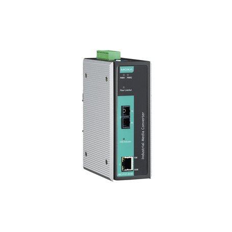 MOXA IMC-P101-S-SC-T Ethernet to Fiber Converter