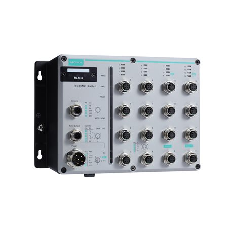 MOXA TN-5818A-2GTXBP-WV-T Managed Ethernet Switches