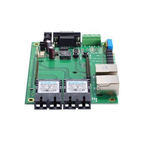MOXA EOM-104-FO Evaluation Kit Embedded Managed Ethernet Switch Modules
