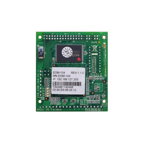 MOXA EOM-104 Embedded Managed Ethernet Switch Modules