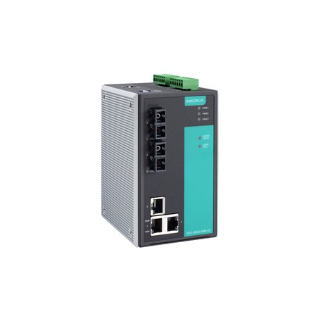 MOXA EDS-505A-SS-SC-T Managed Ethernet Switches