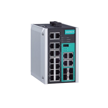 MOXA EDS-518E-4GTXSFP-T Managed Ethernet Switches