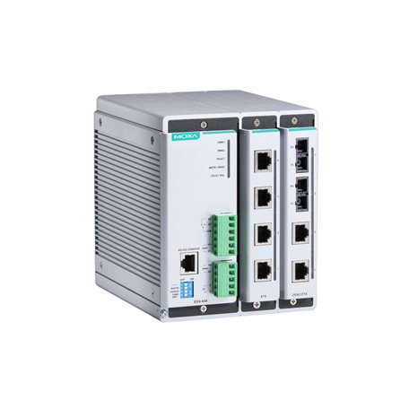 MOXA EDS-608-T Compact Modular Managed Ethernet Switches