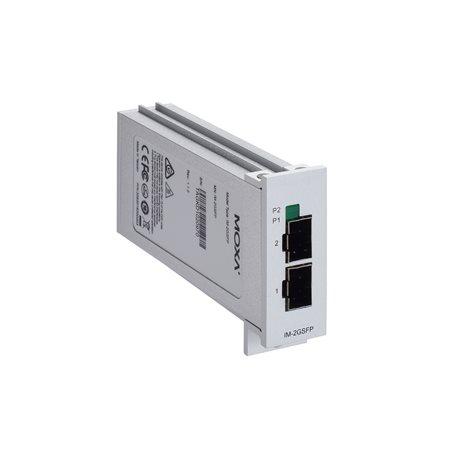MOXA IM-2GSFP Gigabit Ethernet Module