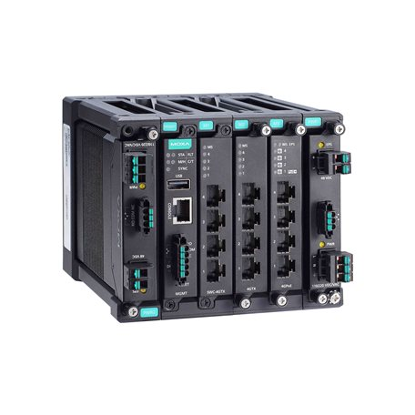 MOXA MDS-G4012 Modular Managed Ethernet Switch