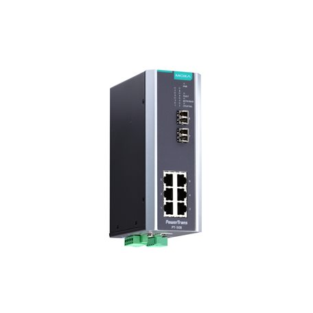 MOXA PT-508-MM-LC-HV Managed Ethernet Switches