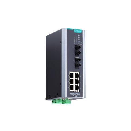 MOXA PT-508-MM-ST-HV Managed Ethernet Switches