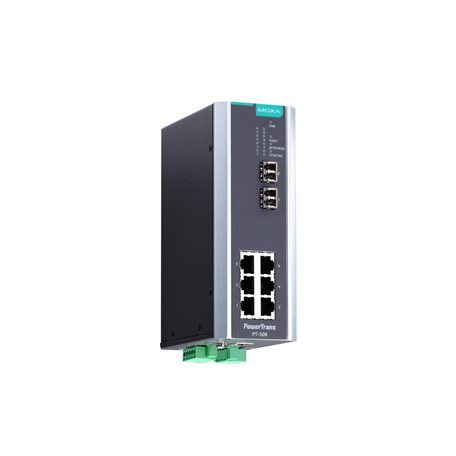 MOXA PT-508-SS-LC-HV Managed Ethernet Switches