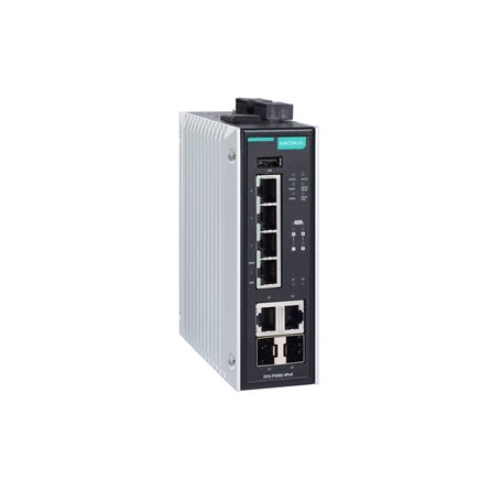 MOXA EDS-P506E-4PoE-2GTXSFP-T Managed Ethernet Switches
