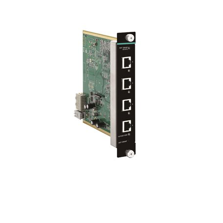 MOXA IM-G7000A-4GTX Gigabit Ethernet module