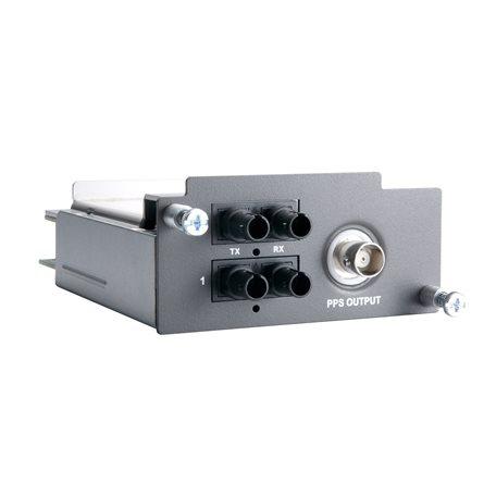 MOXA PM-7200-1BNC2MST-PTP Fiber Module