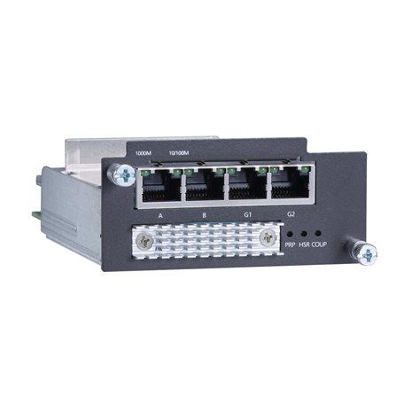 MOXA PM-7200-4GTX-PHR-PTP Ethernet Module