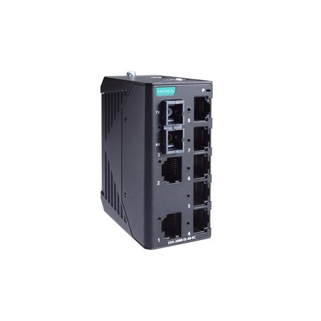 MOXA EDS-2008-EL-M-SC Unmanaged Ethernet Switches