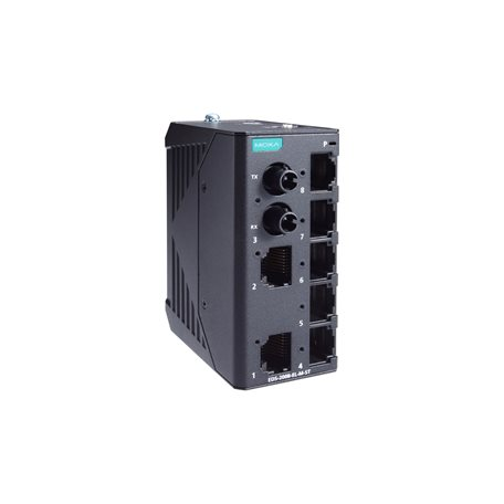 MOXA EDS-2008-EL-M-ST-T Unmanaged Ethernet Switches
