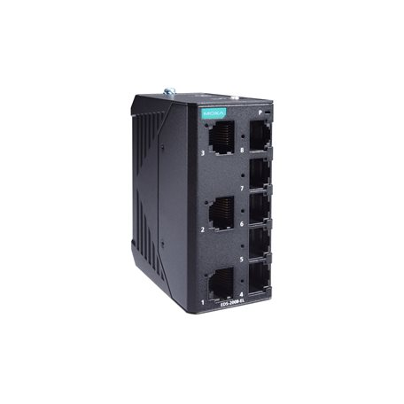 MOXA EDS-2008-EL-T Unmanaged Ethernet Switches