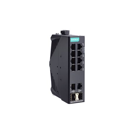 MOXA EDS-2010-ML-2GTXSFP Unmanaged Ethernet Switch